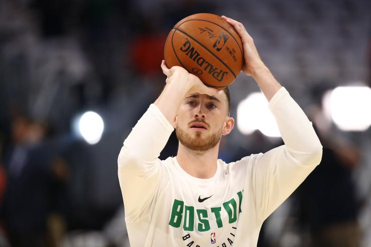 Danny Ainge: Gordon Hayward's injury rehab work 'right on schedule'