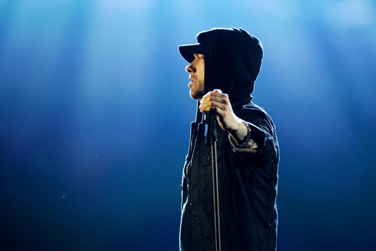 Eminem at the MTV EMAs