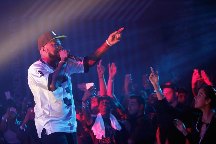 Rapper Jeezy performs onstage at MTV's 'Wonderland' LIVE Show on November 3, 2016 in Los Angeles, California