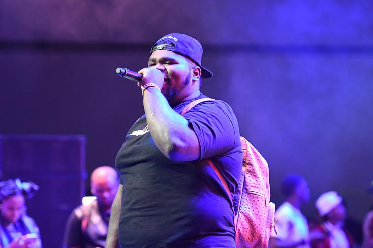 Fatboy SSE performs onstage at the Main Stage Performances during the 2017 BET Experience at Los Angeles Convention Center on June 24, 2017 in Los Angeles, California