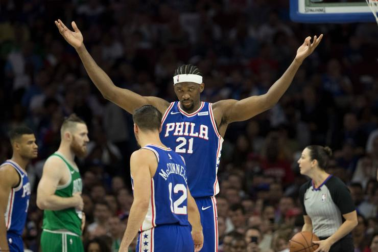 Joel Embiid Gets The Last Laugh Against KAT In Instagram War