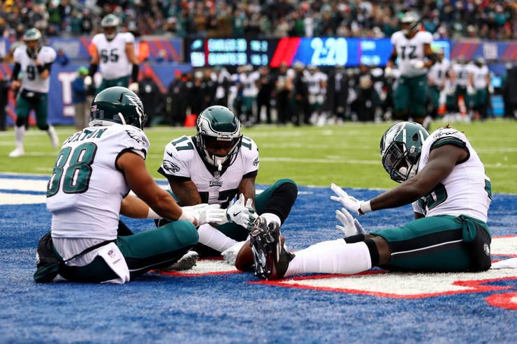 Eagles at Giants: How they match up