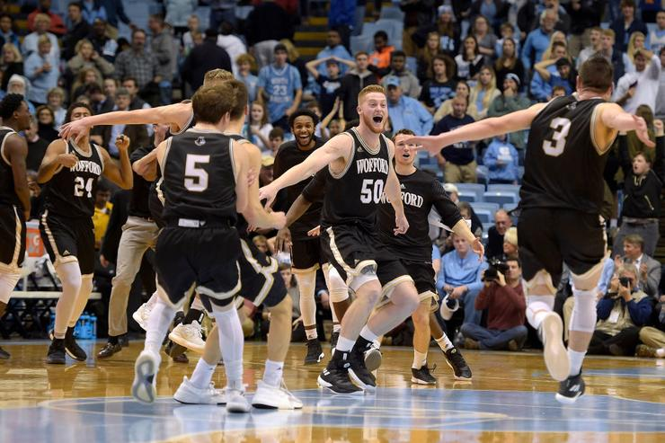 UNC Humiliated At Home In Loss To Wofford