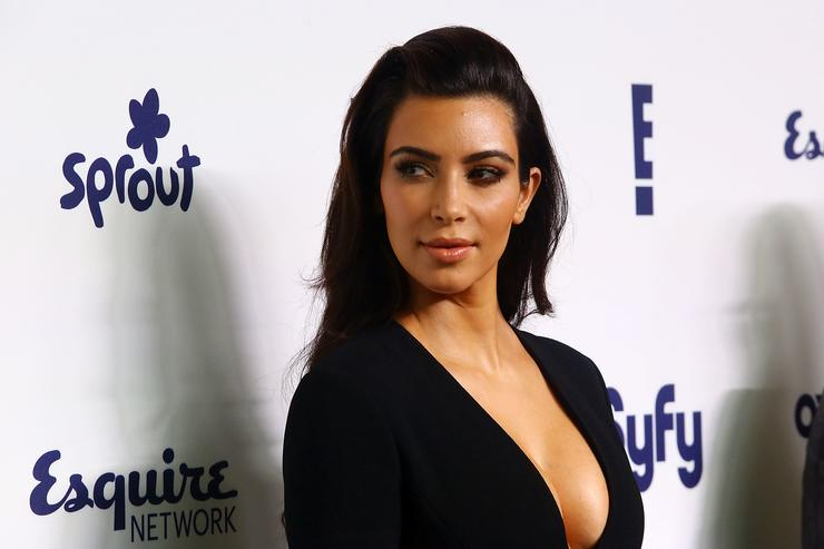 Kim Kardashian attends the 2014 NBCUniversal Cable Entertainment Upfronts at The Jacob K. Javits Convention Center