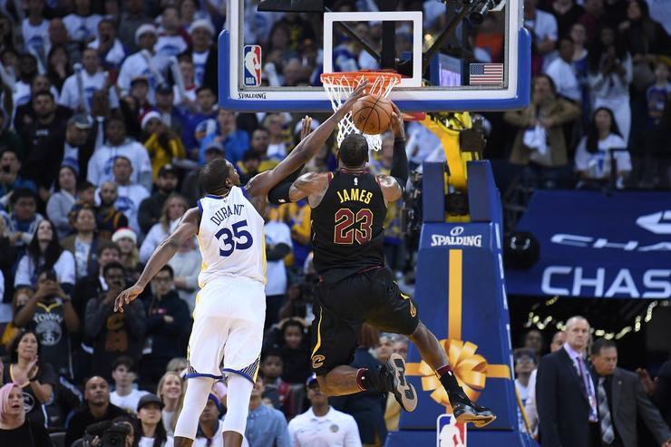 On Twitter' - Kevin Durant dismisses controversy surrounding late no-call against LeBron