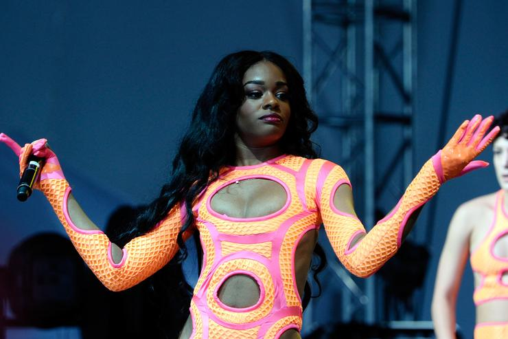 Azealia Banks performs during 2013 Governors Ball Music Festival at Randall's Island on June 8, 2013 in New York City