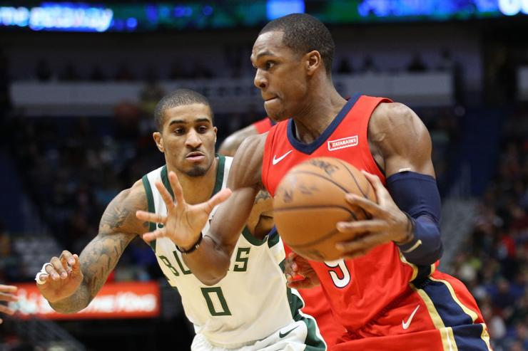 Rajon Rondo posts career-high 25 assists, most in National Basketball Association since 1996