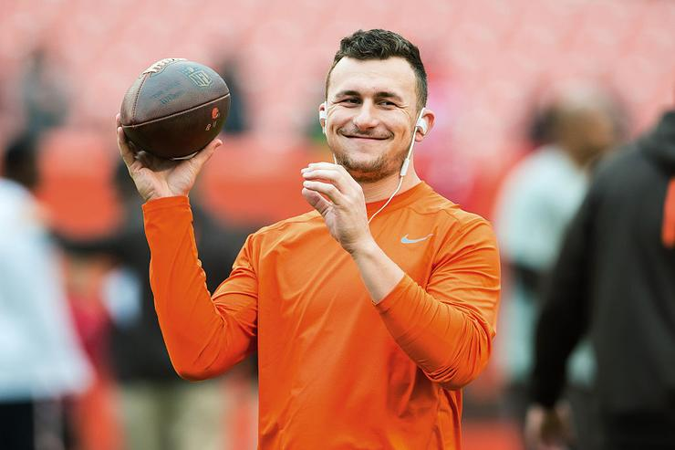 Canadian Football League to approve contract for former Browns QB Johnny Manziel