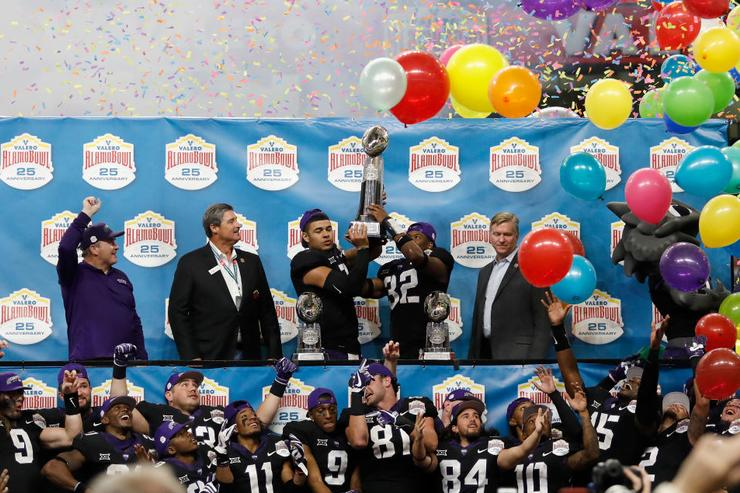 TCU wins slugfest over Stanford in Alamo Bowl