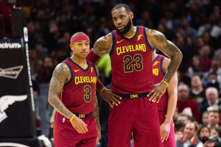 Isaiah Thomas & Lebron James