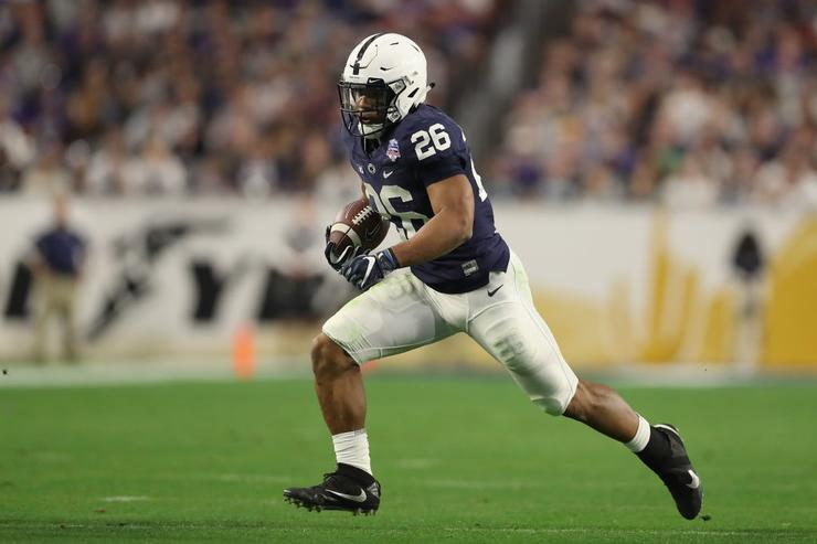 Saquon Barkley signs with Jay-Z's sports agency ahead of NFL Draft