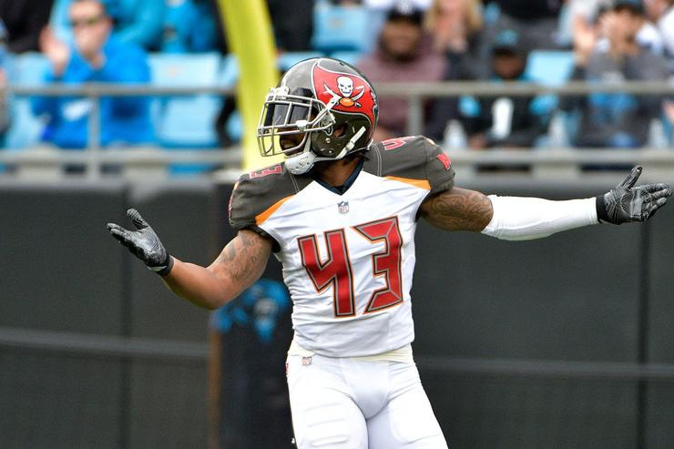 Bucs safety TJ Ward arrested on marijuana possession charge