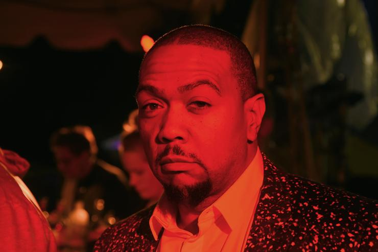 Timbaland attends the Rihanna Party at The New York Edition on September 10, 2015 in New York City