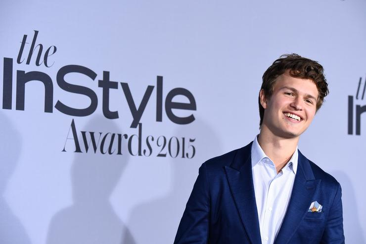 Actor Ansel Elgort attends the InStyle Awards at Getty Center on October 26, 2015 in Los Angeles, California