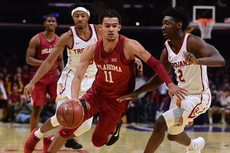 Oklahoma's Trae Young Named Big 12 Player of the Week