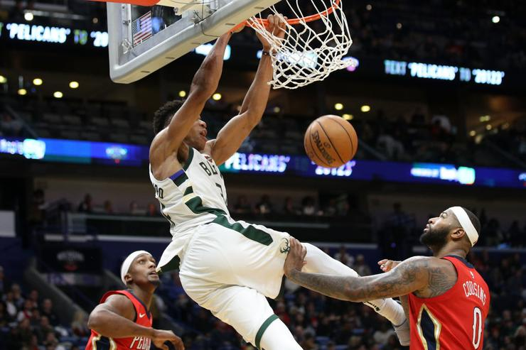 Giannis Antetokounmpo, LeBron James lead NBA All-Star voting returns