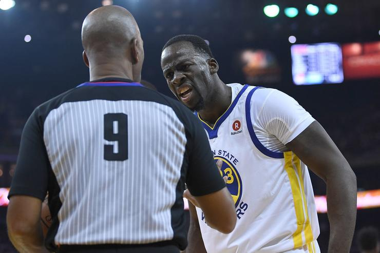 Draymond Green Fined $25000 For Criticizing NBA Refs