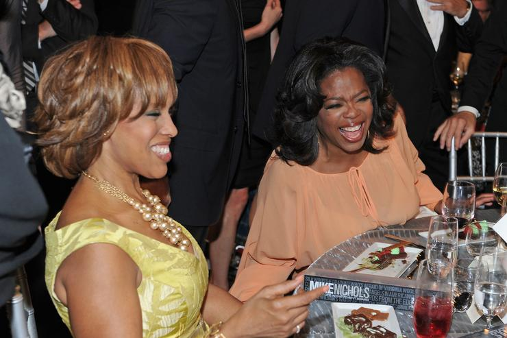 Gayle King downplays chance of Oprah Winfrey running