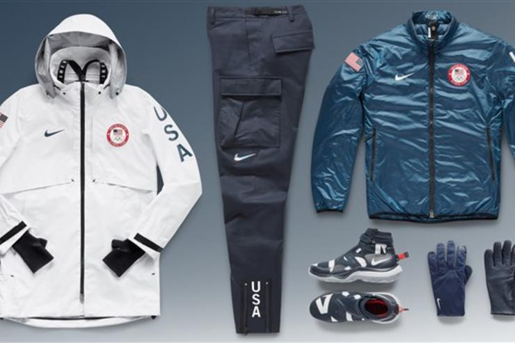 Nike unveils Team USA's podium outfits for Olympics
