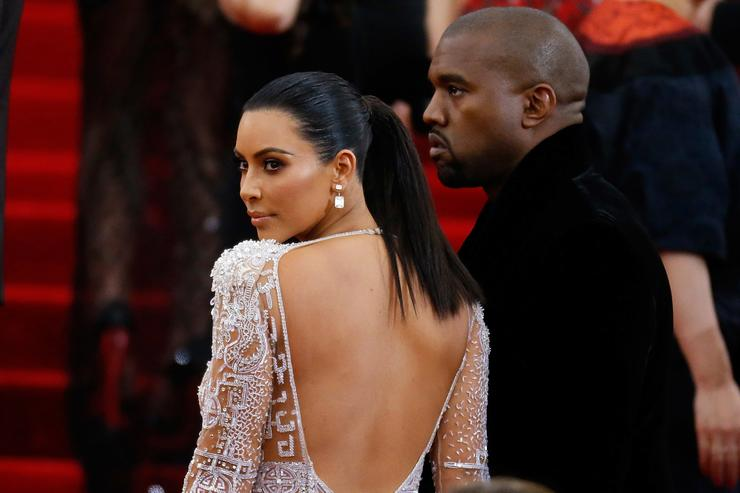 Kanye West and Kim Kardashian attend 'China: Through The Looking Glass' Costume Institute Benefit Gala at Metropolitan Museum of Art on May 4, 2015 in New York City.