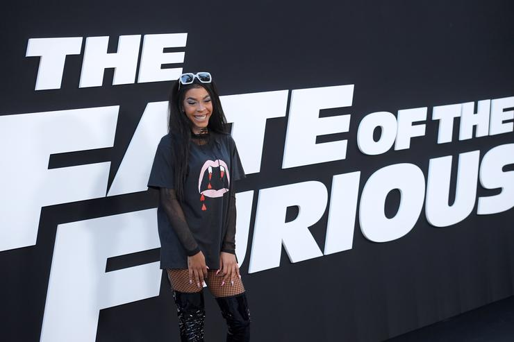 Musician Rico Nasty attends 'The Fate Of The Furious' New York Premiere at Radio City Music Hall on April 8, 2017 in New York City