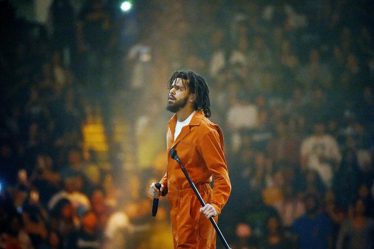 J. Cole on tour