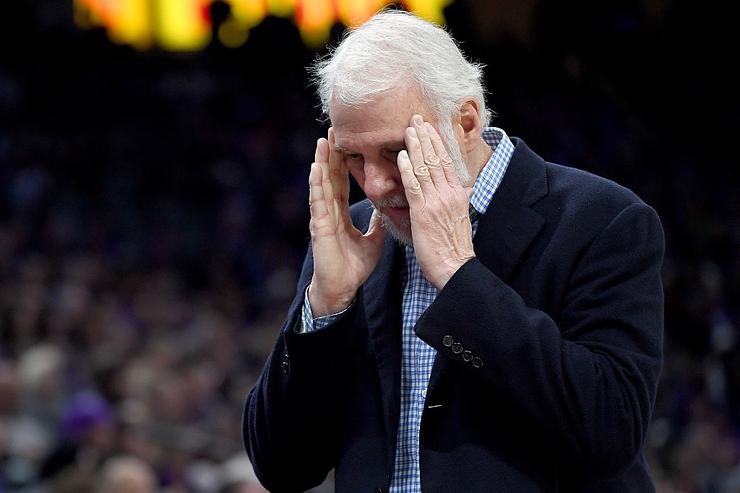 Gregg Popovich Throws Shade At LaVar Ball, Calls His Opinion 'Meaningless'