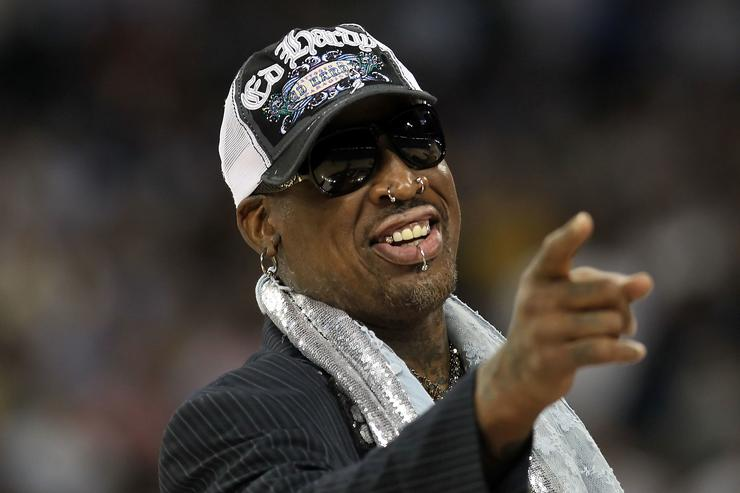 Dennis Rodman arrested on suspicion of DUI in California