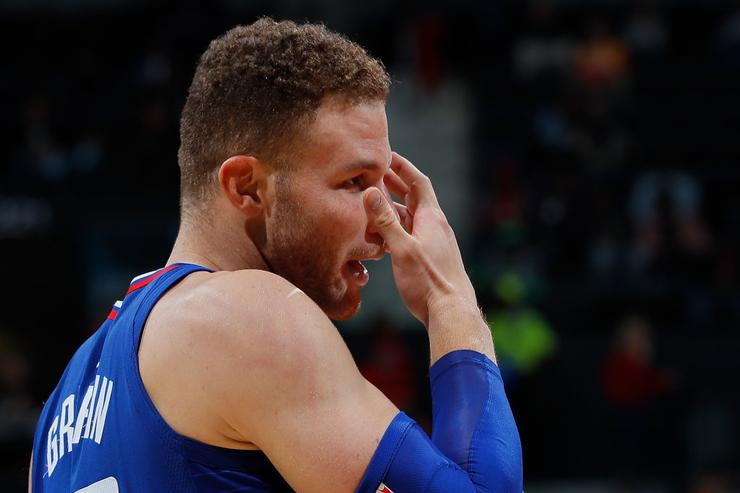 Chris Paul, Harden Among Rockets Who Sought Blake Griffin in Locker Room
