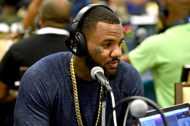 Rapper The Game attends day 1 of the Radio Broadcast Center during the BET Awards '14 on June 27, 2014 in Los Angeles, California