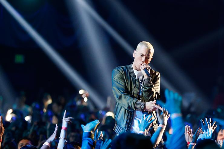 Eminem, Childish Gambino and more for intimate Grammys week shows in NYC