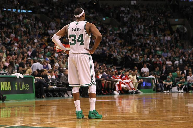 Isaiah Thomas concedes to Paul Pierce on video tribute