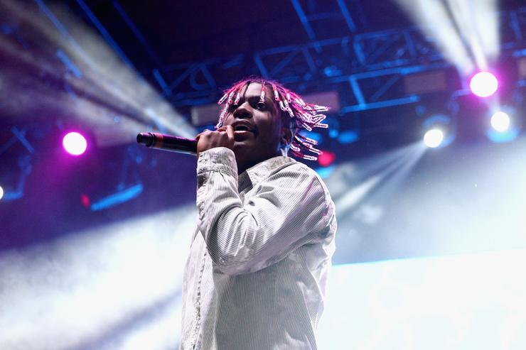 Lil Yachty performs on the Stage during day 2 of Camp Flog Gnaw Carnival 2017 at Exposition Park on October 29, 2017 in Los Angeles, California