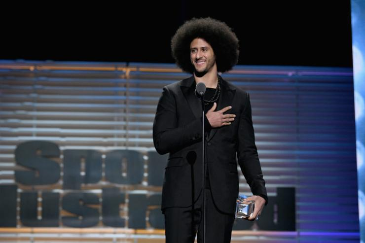 Colin Kaepernick says he's completing $1 million donation pledge