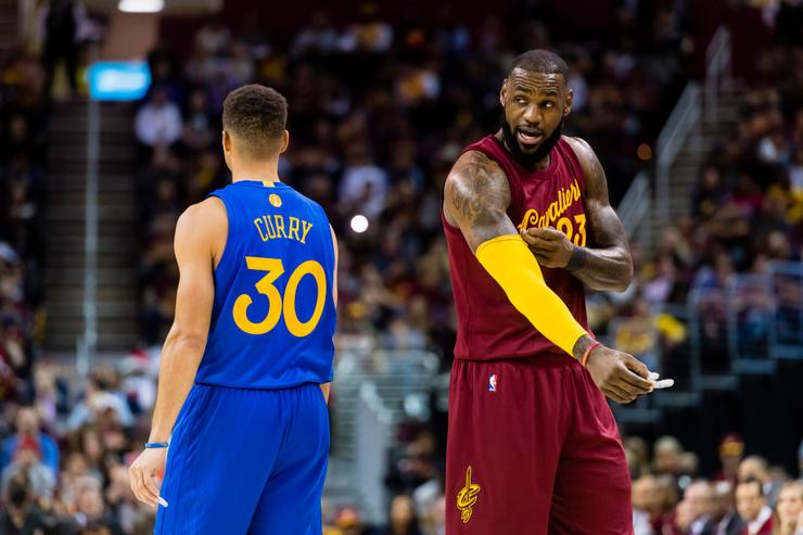 LeBron And Steph Curry Named All-Star Game Captains