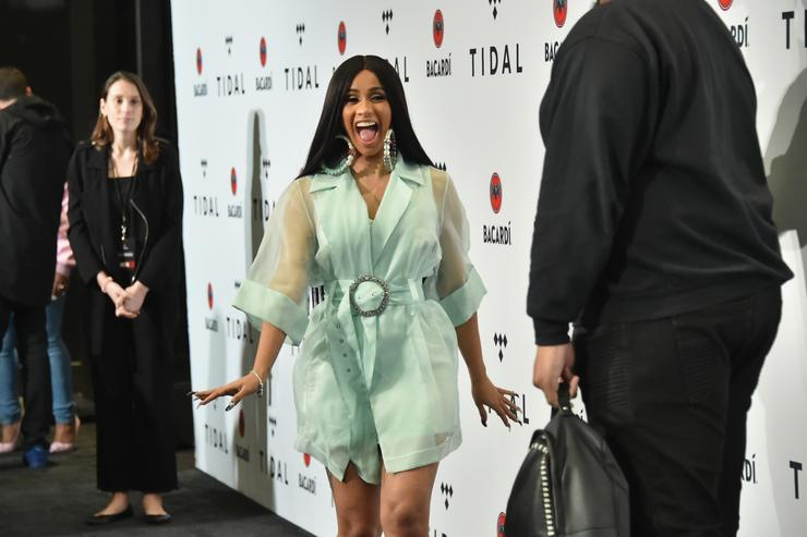 Cardi B attends TIDAL X: Brooklyn at Barclays Center of Brooklyn on October 17, 2017 in New York City