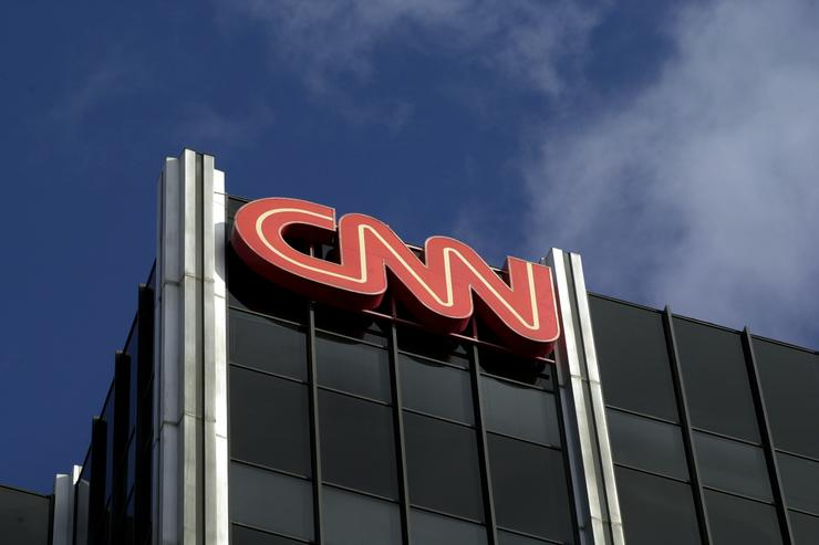 The Cable News Network (CNN) logo adorns the top of CNN's offices on the Sunset Strip, January 24, 2000 in Hollywood, CA. CNN was hit with job cuts earlier this week after CNN's parent company, Time-Warner, Inc., completed its merger with America Online, Inc