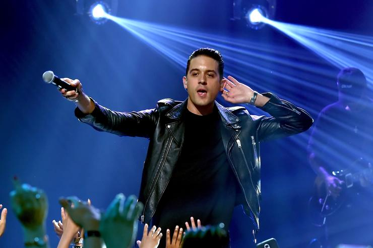 G-Eazy performs onstage during iHeartRadio LIVE with Bebe Rexha presented by Forever 21 at iHeartRadio Theater on August 7, 2017 in Burbank, California