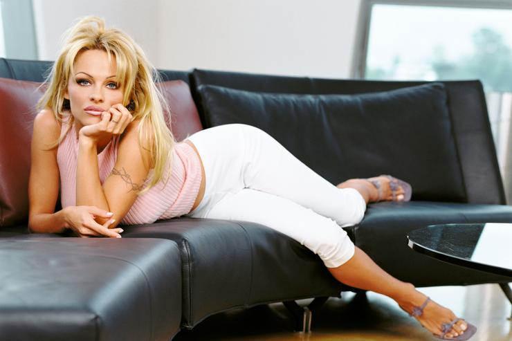 Actress Pamela Anderson Stars As Vallery Irons In The Syndicated Television Series 'V.I.P.'