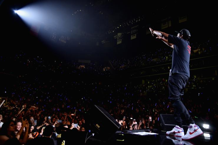 Jay Z performs onstage during TIDAL X: Brooklyn at Barclays Center of Brooklyn on October 17, 2017 in New York City