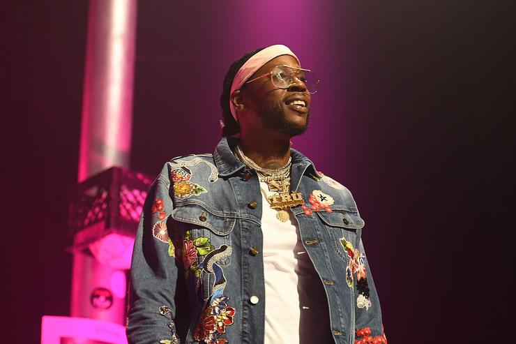 Rapper 2 Chainz perfroms onstage at night four of the Late Night Concert during the 2017 BET Experience at The Novo by Microsoft on June 25, 2017 in Los Angeles, California
