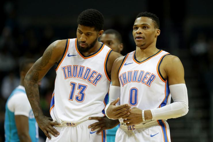 Paul George: Russell Westbrook making free agent decision easier
