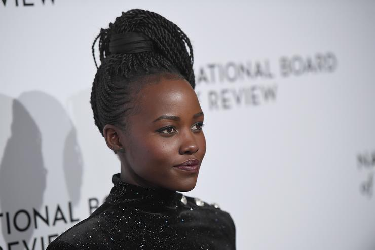 Actor Lupita Nyong'o attends The National Board Of Review Annual Awards Gala at Cipriani 42nd Street on January 9, 2018 in New York City