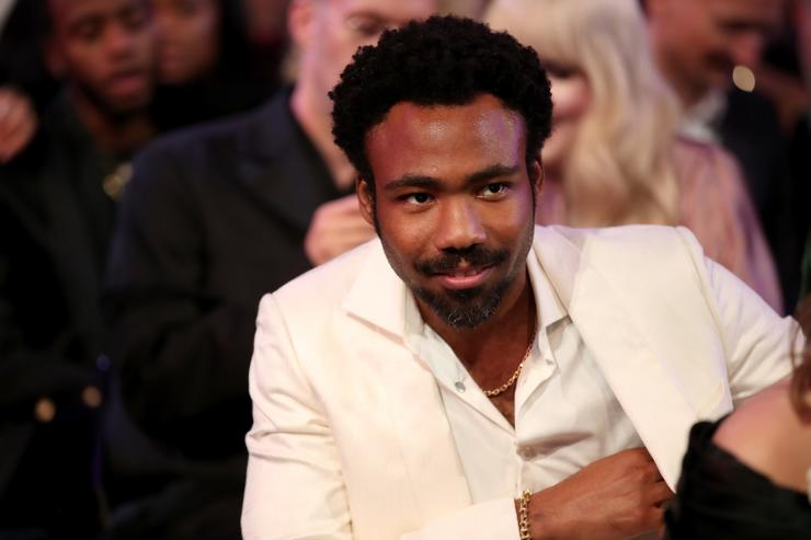 Childish Gambino at the grammys 2018