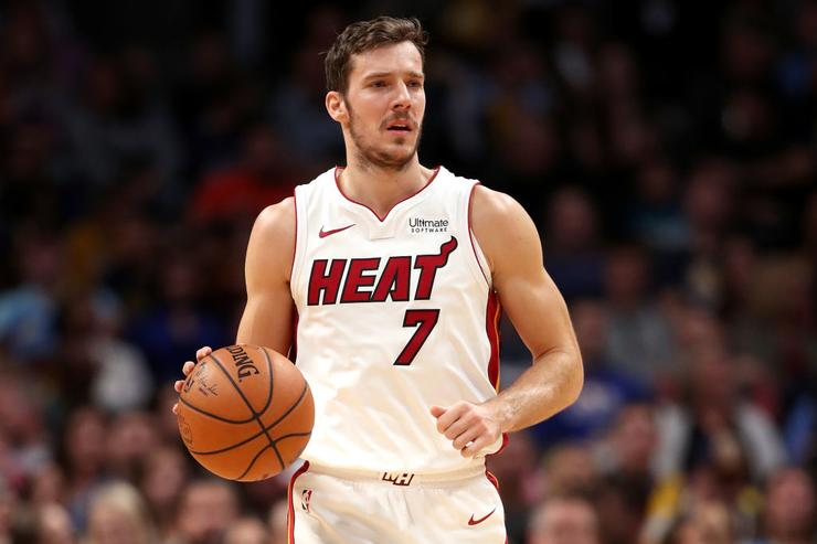 Miami Heat's Goran Dragic replaces injured Kevin Love in All-Star game