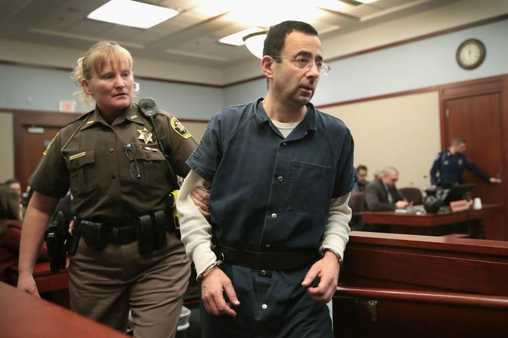 Victims' Father Tries to Attack Larry Nassar at Sentencing Hearing