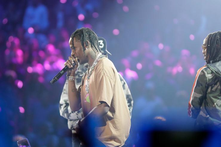 Travis Scott at 2017 iHeartRadio Festival