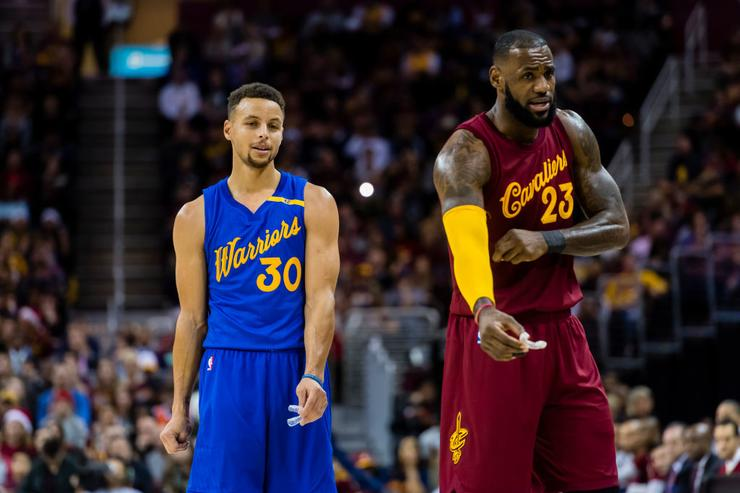Image result for lebron and steph