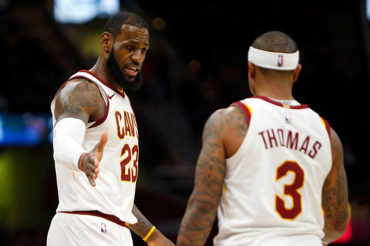NBA trade deadline: Cavaliers send Isaiah Thomas to Lakers