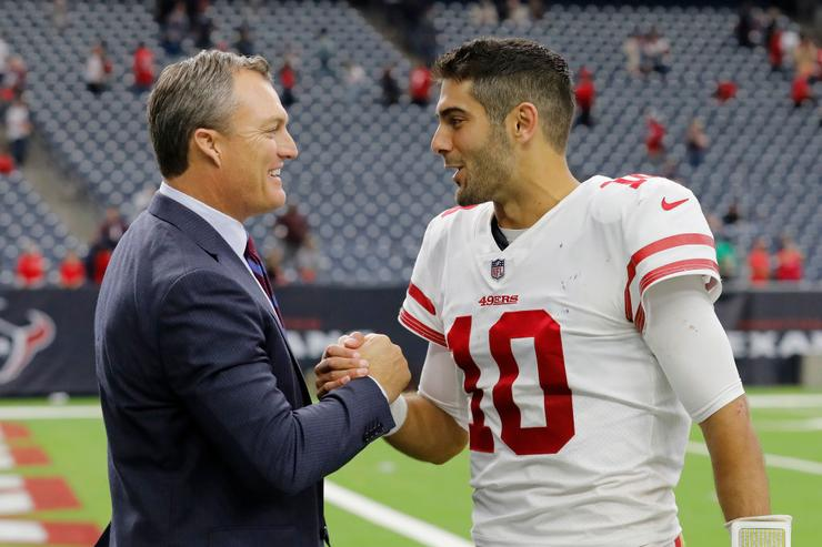 49ers officially announce Jimmy Garoppolo extension